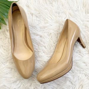Cole Haan | Nike air patent leather pumps